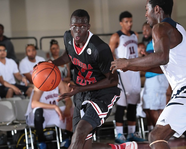 Deng Adel could slot into the small forward position immediately for Louisville. (Adidas)