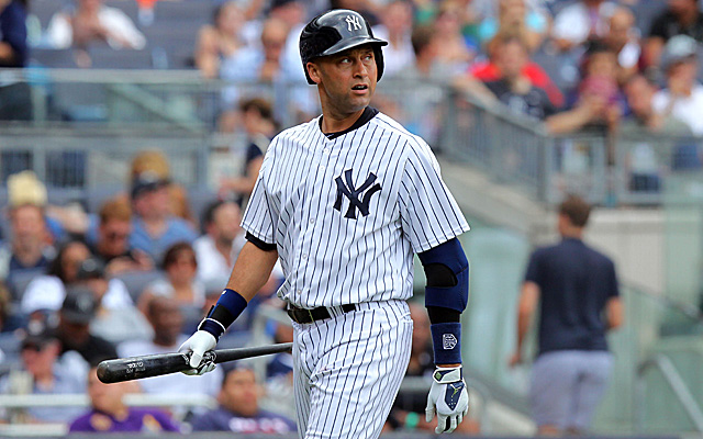 Derek Jeter continues to have issues with his ankle.