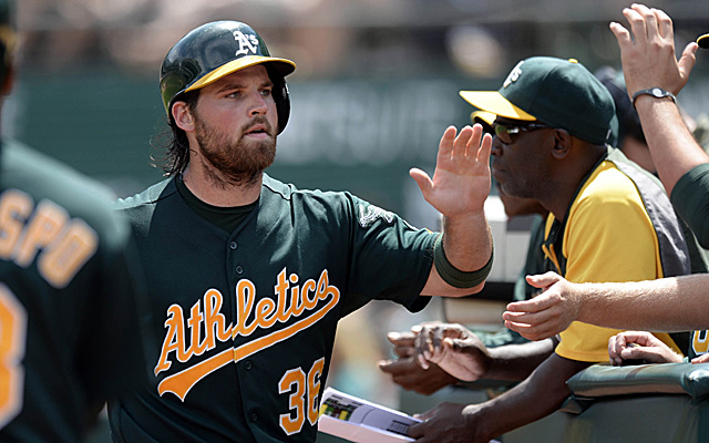 Derek Norris returns to the active roster of the A's Thursday.