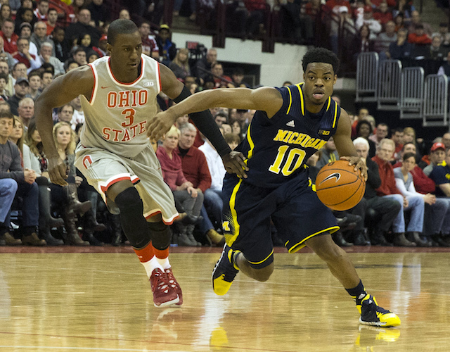 Derrick Walton Jr. was the key for Michigan in the second half on Tuesday. (USATSI)