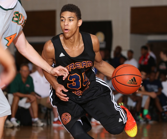 Derryck Thornton is one of the best point guards in the class of 2016. (Adidas)