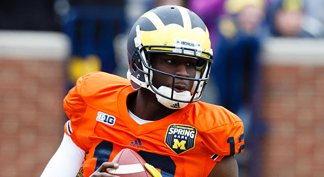 Devin Gardner is trying to be a leader both on and off the field. (USATSI)
