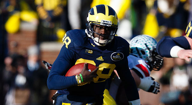With Devin Gardner back, Jerry Hinnen likes Michigan in the Big Ten. (USATSI)