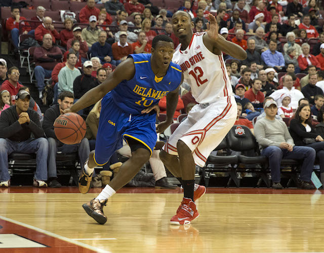 Devon Saddler and Delaware are letting their CAA lead slip away down the stretch. (USATSI)