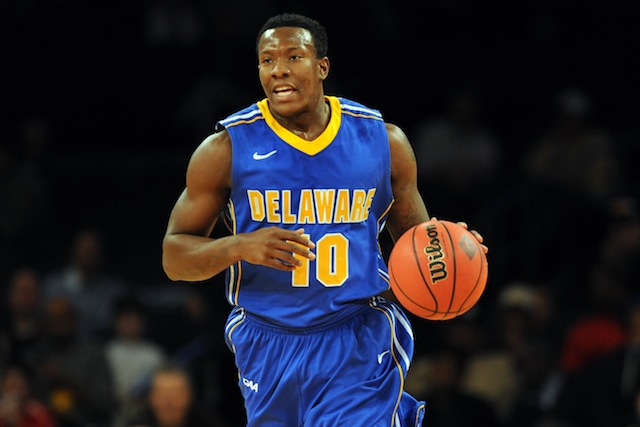 Northeastern won the regular season title, but Devon Saddler and Delaware have won 10 of their last 12. (USATSI)
