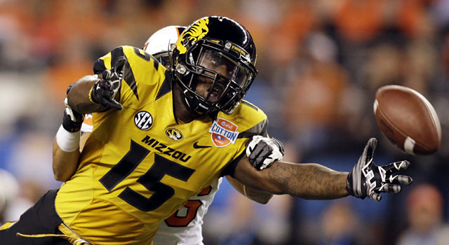 Dorial Green-Beckham had 883 yards and 12 touchdowns as a sophomore in 2013. (USATSI)