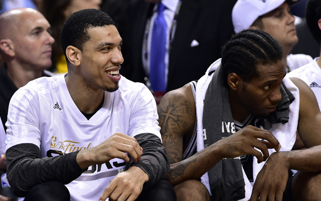 Boris Diaw and Danny Green are right where they belong..  (USATSI)