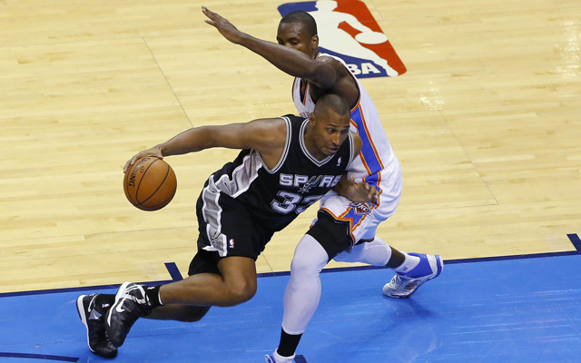 Boris Diaw made a difference for San Antonio.  (USATSI)