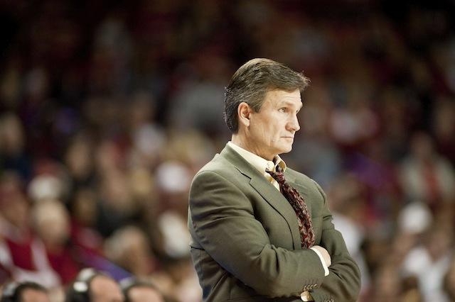 Utah Valley's Dick Hunsaker won 39 games the past two seasons before struggling this year. (USATSI)