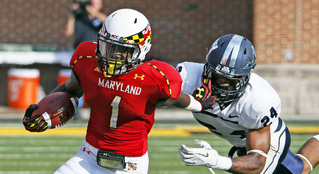 With the return of Stefon Diggs, Maryland could surprise in the Big Ten. (USATSI)