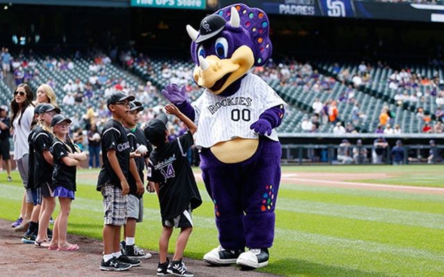 Petitions have been created to fire Dinger, who wears no pants. (Getty)