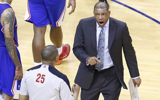 Doc Rivers was furious after Game 5. (USATSI)