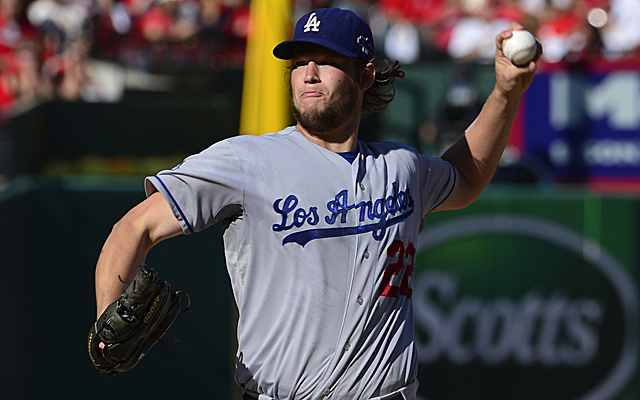 Can Clayton Kershaw make the stacked pitching staff here?
