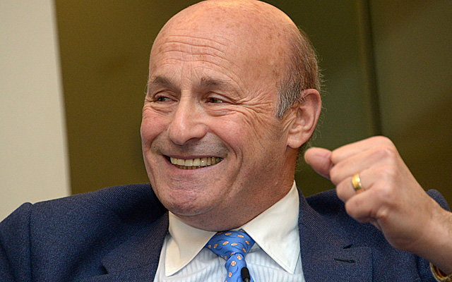 Dodgers exec Stan Kasten has lots of reasons to smile right now.