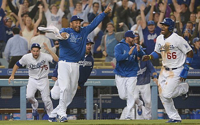 The Dodgers are now the favorites to win the World Series.