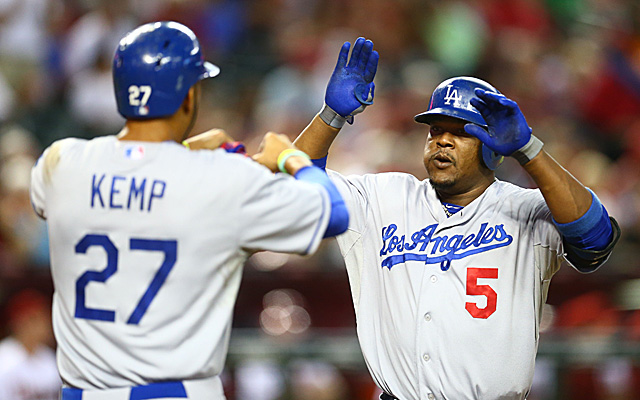 Matt Kemp, Yasiel Puig and company are World Series favorites according to one outlet.