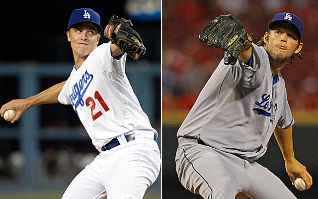 Zack Greinke and Clayton Kershaw give the Dodgers a scary 1-2 punch for the playoffs.