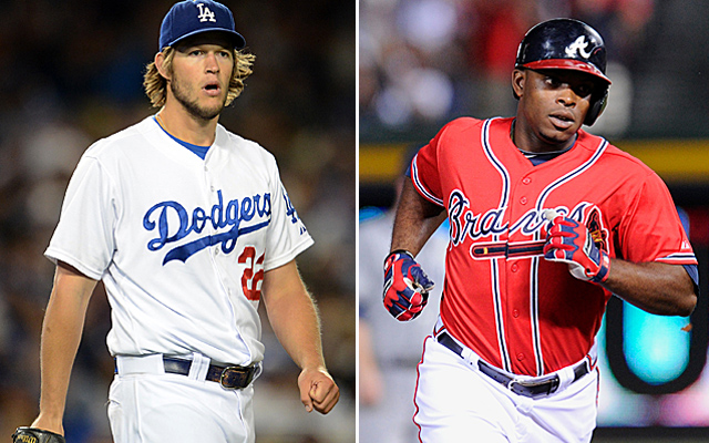 Clayton Kershaw and Justin Upton are set for an epic battle between two great teams.