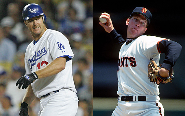 Doesn't it feel like Jeff Kent and Orel Hershiser should trade uniforms?