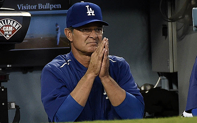 Don Mattingly might have just managed his last game with the Dodgers.