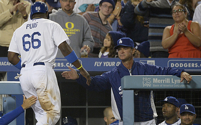 Players like Yasiel Puig have made Don Mattingly look like a genius since late June.