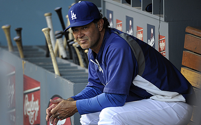 Don Mattingly's Dodgers have been awful with the bases loaded this season.