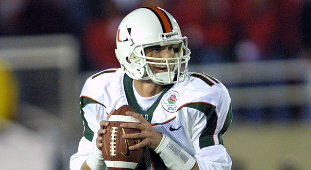 Ken Dorsey and Miami had no trouble beating Nebraska in the Rose Bowl. (Getty)