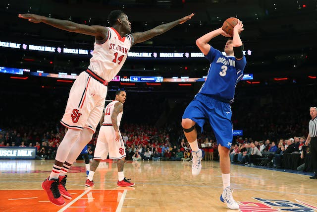 JaKarr Sampson and St. John's made life difficult for Doug McDermott down the stretch. (USATSI)