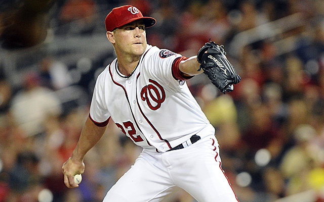 Drew Storen is back with the Nationals for the stretch run.