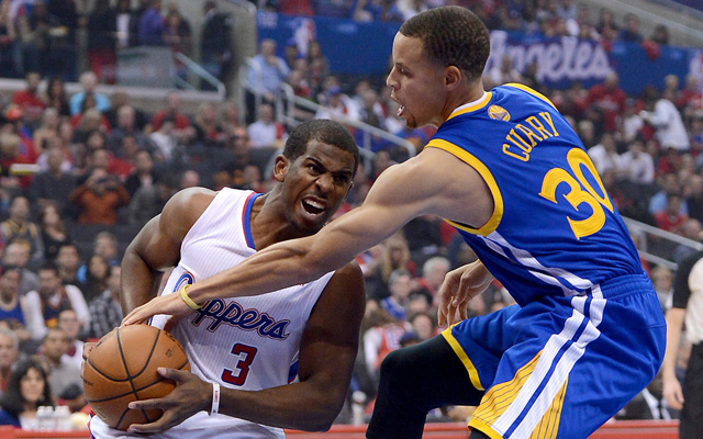 The Clippers and Warriors don't like each other.  (USATSI)
