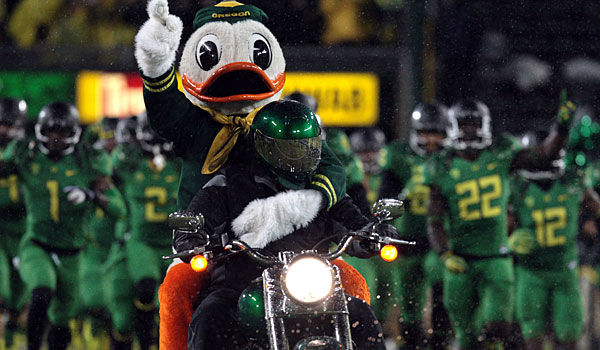 Oregon would be in the national championship game if the season ended today.