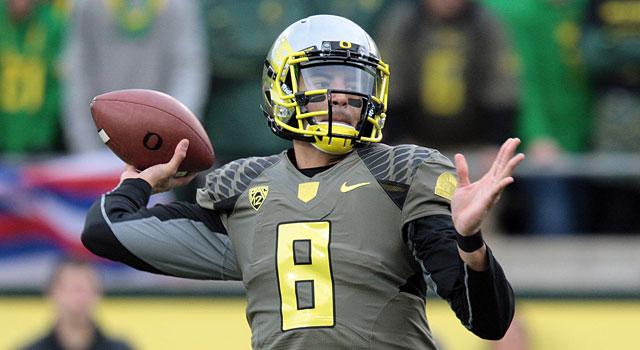 Oregon might win the Pac-12 and be left out of the playoff. (USATSI)