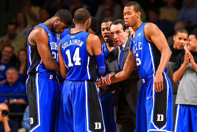 Mike Krzyzewski and Duke have the weapons to be a title threat in March. (USATSI)