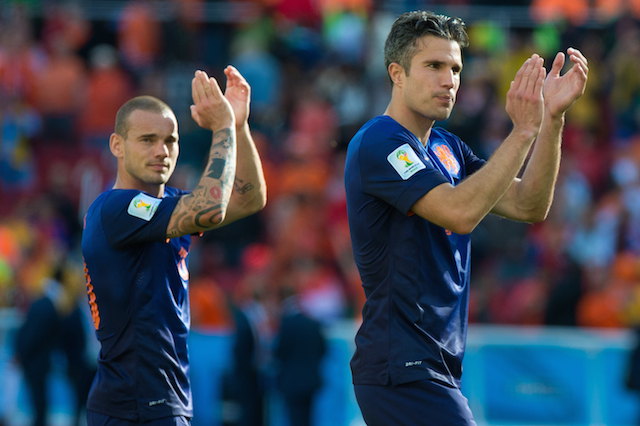 Wesley Sneijder, Robin van Persie and the Netherlands have been a dangerous team thus far. (Getty Images)