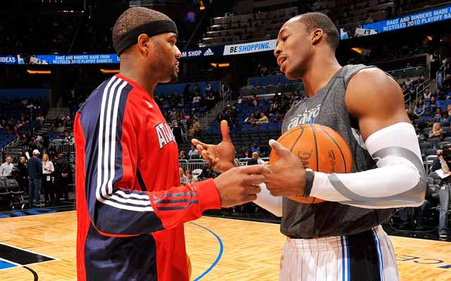 Could Dwight Howard and Josh Smith team up in Houston?    (USATSI)