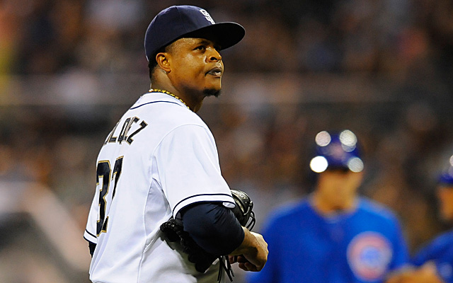 Why did the Dodgers sign Edinson Volquez? Hard to tell.