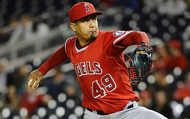 Ernesto Frieri has lost his job as the Angels' closer.
