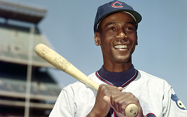 The great Ernie Banks, back in his prime.