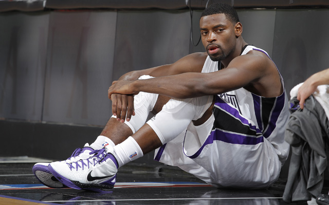 Tyreke Evans could be checking i for the Pelicans next year.   (USATSI)