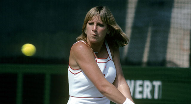 Chris Evert won four consecutive US Open titles in the 1970s. (Getty)