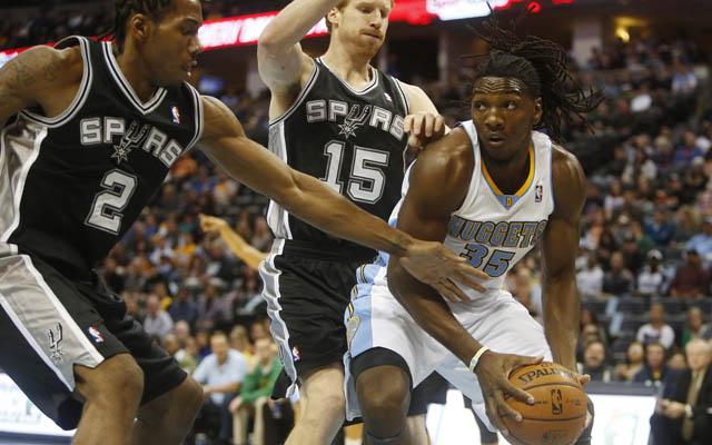 Faried will miss some time with a strained hamstring.  (USATSI)