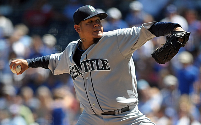 Might King Felix be making an appearance on the Mariners all-time single-season team?