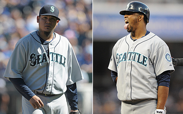 The wives of King Felix and Carlos Peguero appear to have a problem.