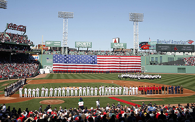 The Venerable Fenway Park On Red Soxs Home Opener It Was A Sellout USATSI