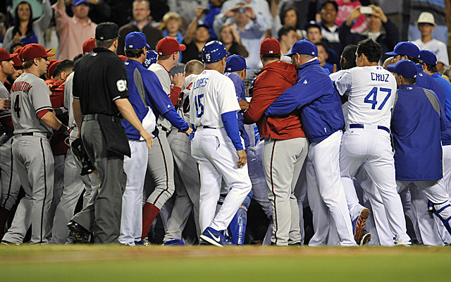 Fallout from the Dodgers-Diamondbacks brawl continues.