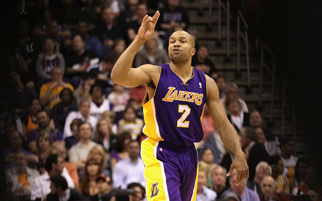 Among Derek Fisher's stops in an 18-year playing career were two stints with the Lakers. (USATSI)