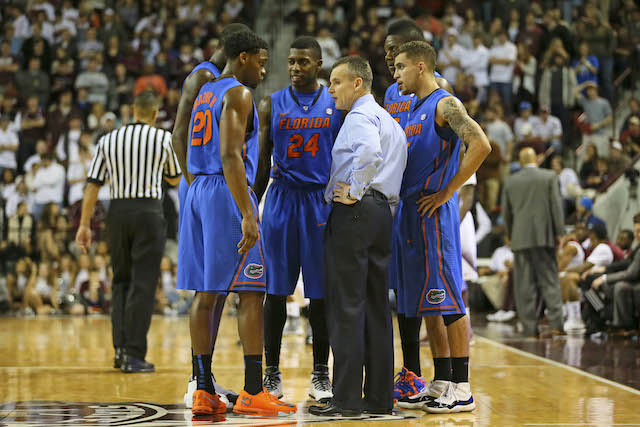 Billy Donovan and Florida haven't lost since December 2 at Connecticut. (USATSI)
