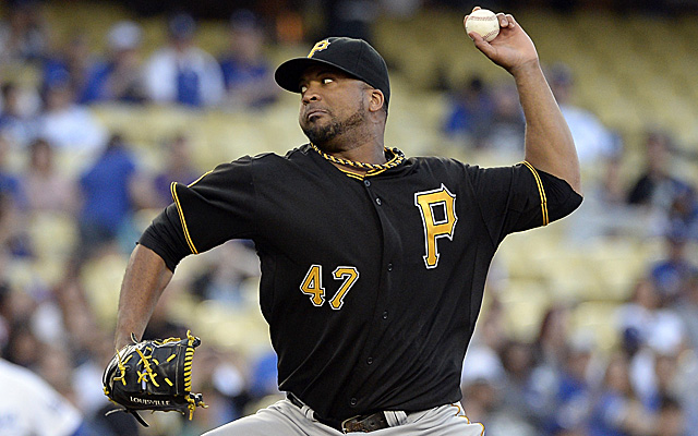 Francisco Liriano will return to the mound for Pittsburgh this weekend.