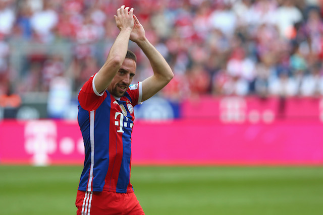 French star Franck Ribery is one of the best wingers in the world. (Getty Images)