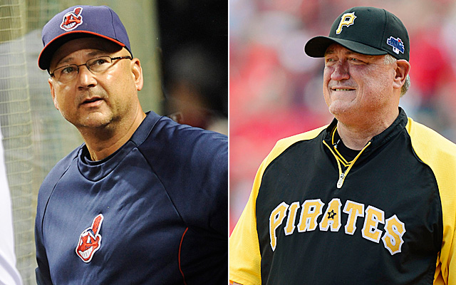 Will Terry Francona and Clint Hurdle win awards Tuesday? That's how Eye On Baseball believes it should heppen.